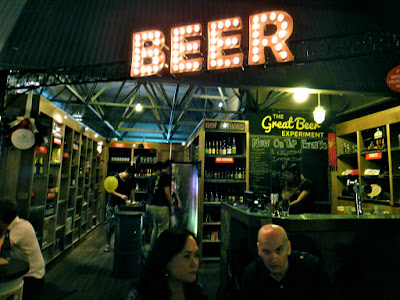 Beer Section at PasarBella the Grandstand Bukit TImah Singapore