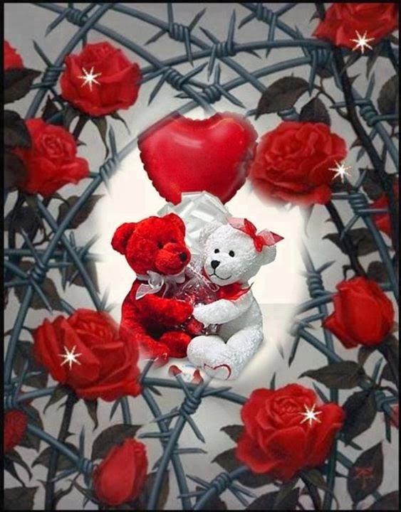 Imagenes De Ositos Abrazados - Fotomontaje de amor con osos abrazados