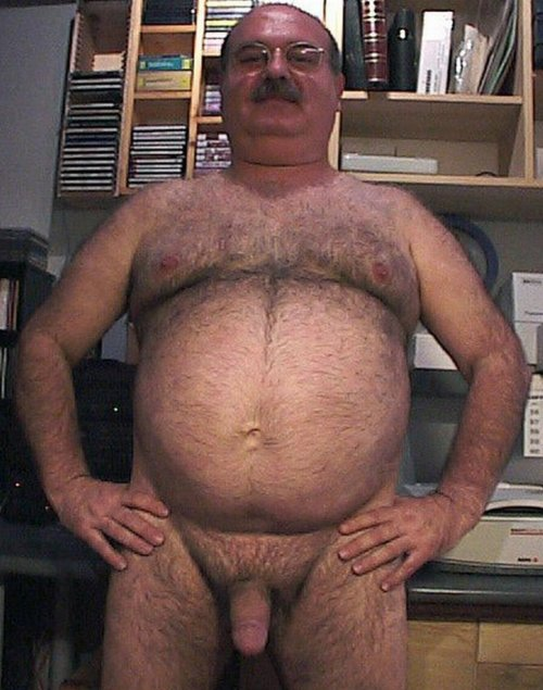 Men With Hairy Bellies
