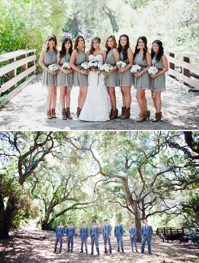 Bright smile rustic wedding for Bridesmaid dresses for a rustic wedding