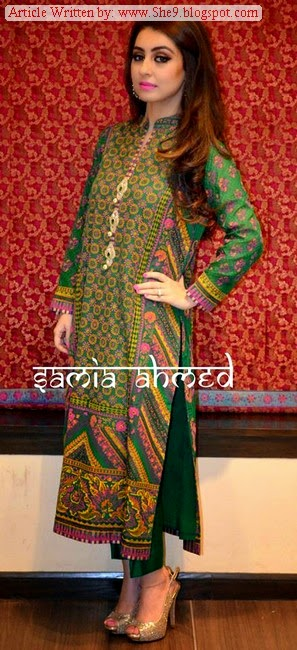 Designer Samia Ahmed Kurti Collection