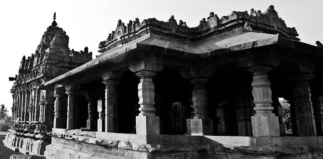Sideview of the Brahma Jinalaya temple