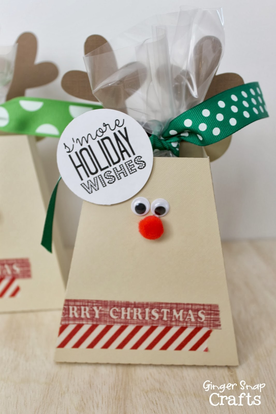Smore Reindeer Treat Boxes from Ginger Snap CraftsDesign Dazzle