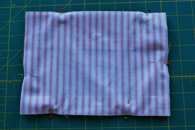 Step three: assembling the pouch