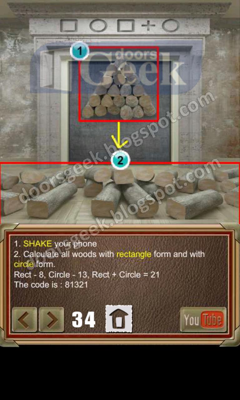 100 doors of revenge level 34 doors geek for 100 door of revenge
