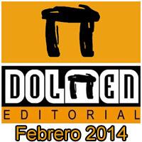 Dolmen Editorial: Novedades Febrero 2014