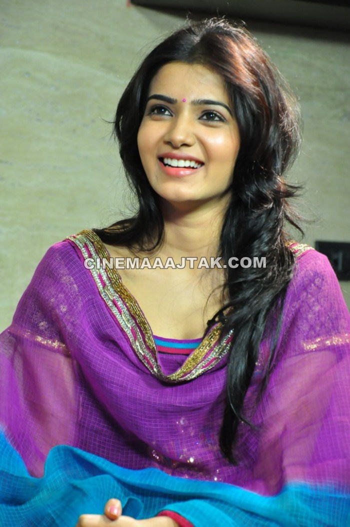 Samantha 1 - Beautiful Samantha At Dookudu Success Meet