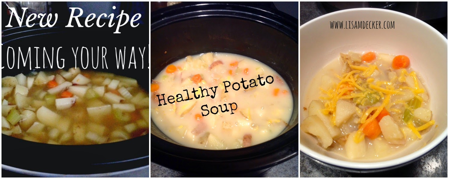 Healthy Potato Soup, Healthy Soup Recipes, Clean Eating, Clean Eating Dinners