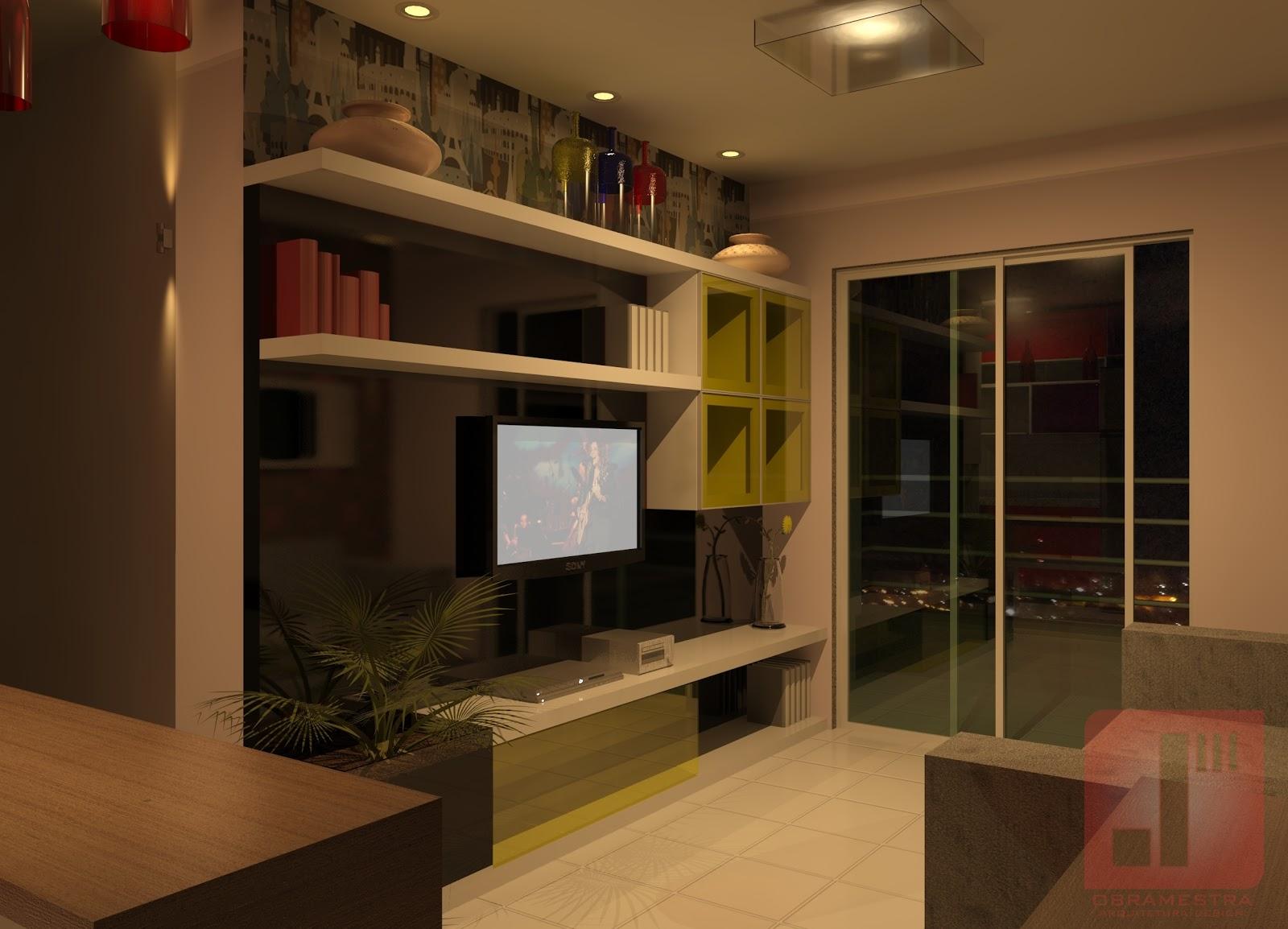 Design de ambientes - Apartamento 64 m²