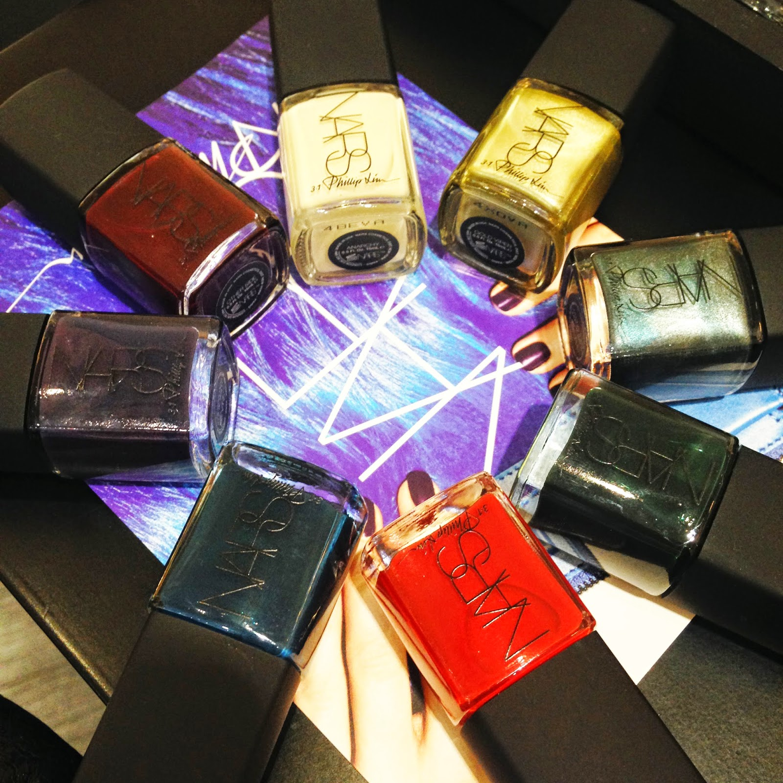 NARS by Philip Lim 3.1 Nail polishes