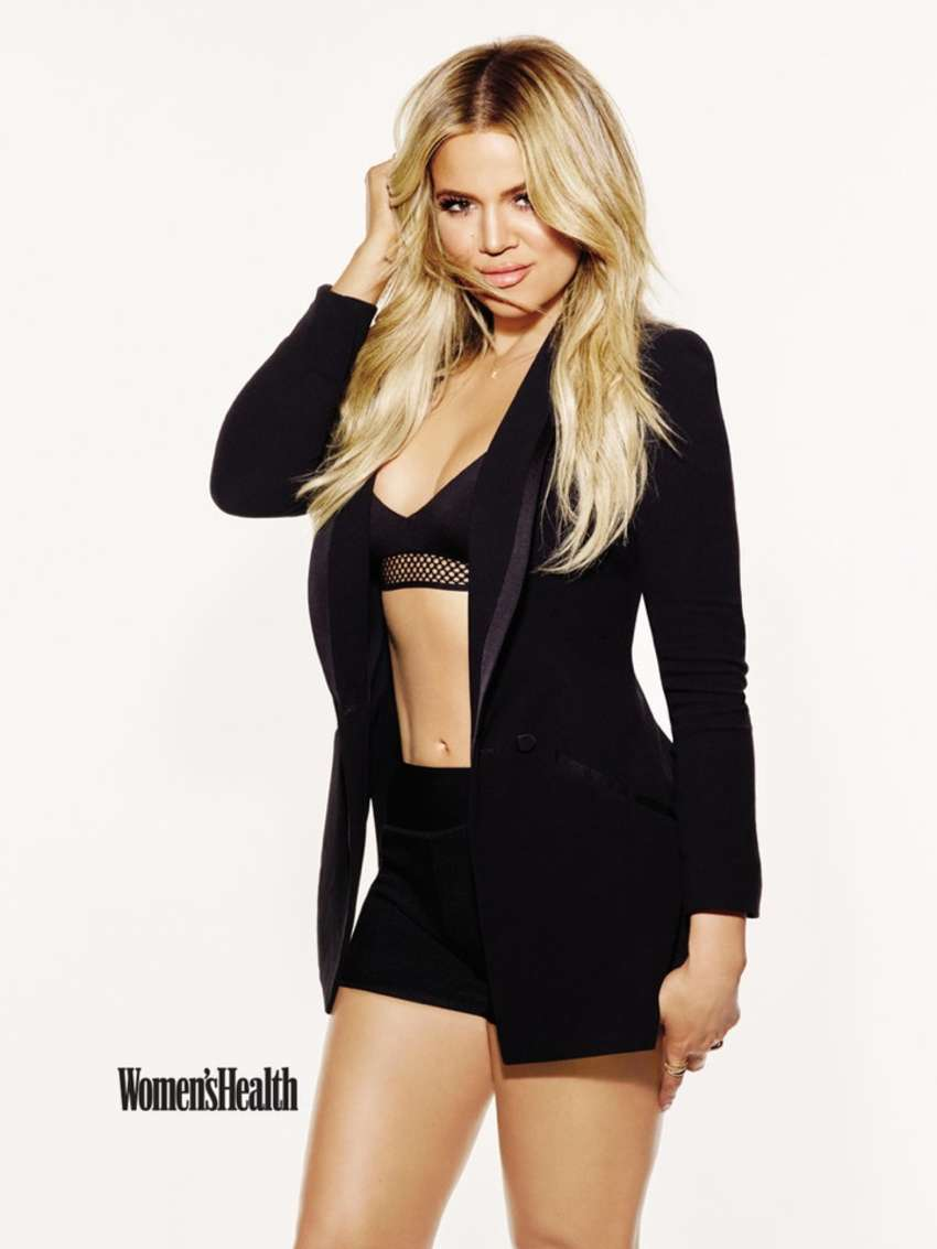 Khloe Kardashian - Women's Health Magazine September 2015