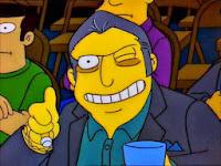 Fat Tony - Los Simpson