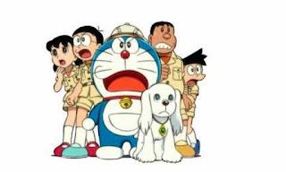 Kartun anak-anak Doraemon dan teman-temannya