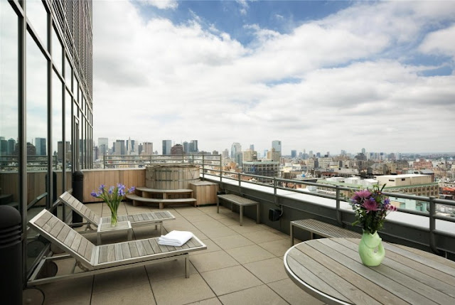 Photo of terrace in one of the most beautiful penthouses