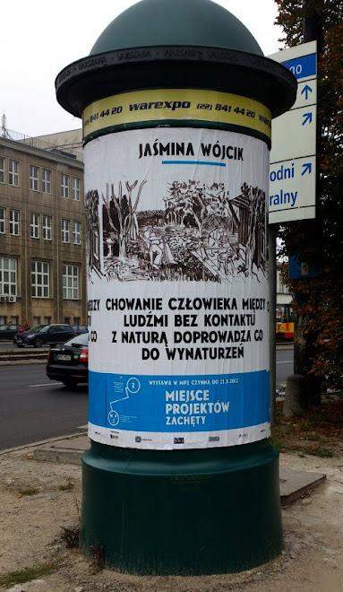 Wystawa Jaśminy Wójcik, Miejsce Projektów Zachęty, Warszawa, sierpień - październik 2012 r.