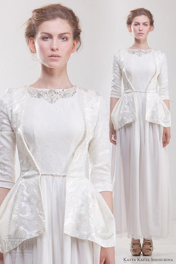 Katya katya shehurina classic teenage wedding dresses gowns for Teenage dress for wedding