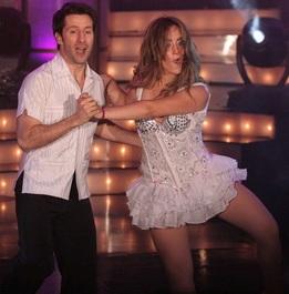 Foto de Marco Zunino en pleno baile