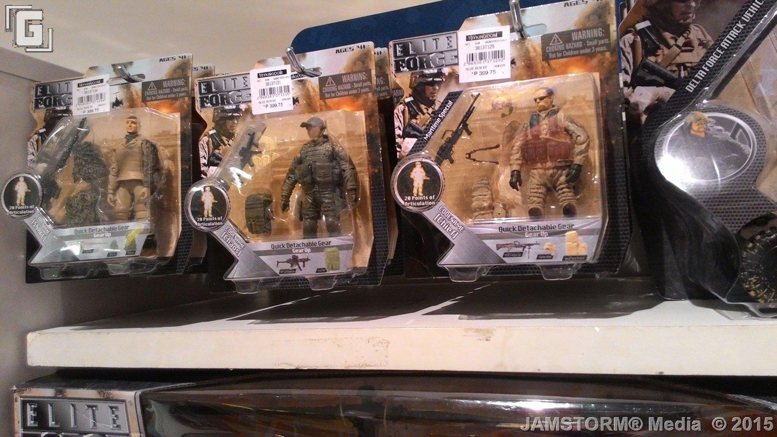 Elite Force 1 18 Toy : Geekmatic toy sightings elite force