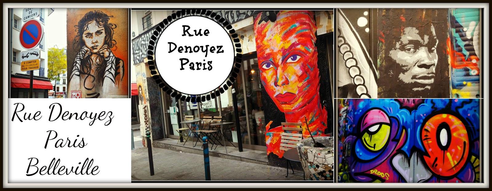 Bellevile Paris - najbardziej odjechana ulica