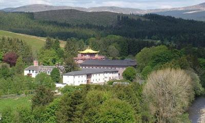 Kagyu Samye Ling monastery in Scotland