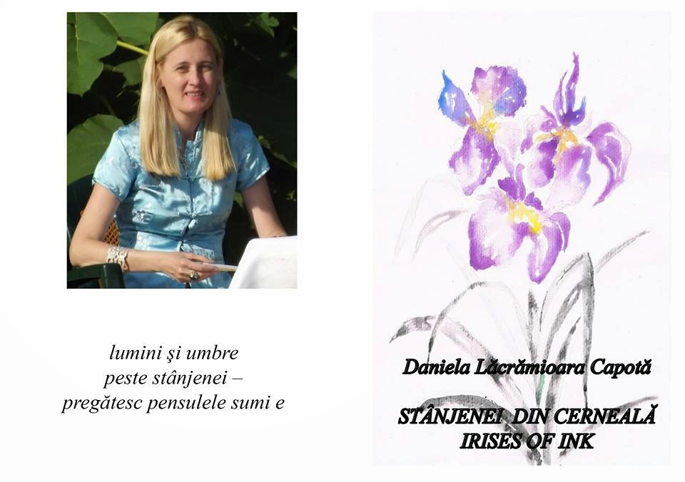 Daniela Lăcrămioara Capotă - Irises of Ink