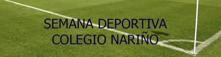 SEMANA DEPORTIVA COLEGIO NARIÑO