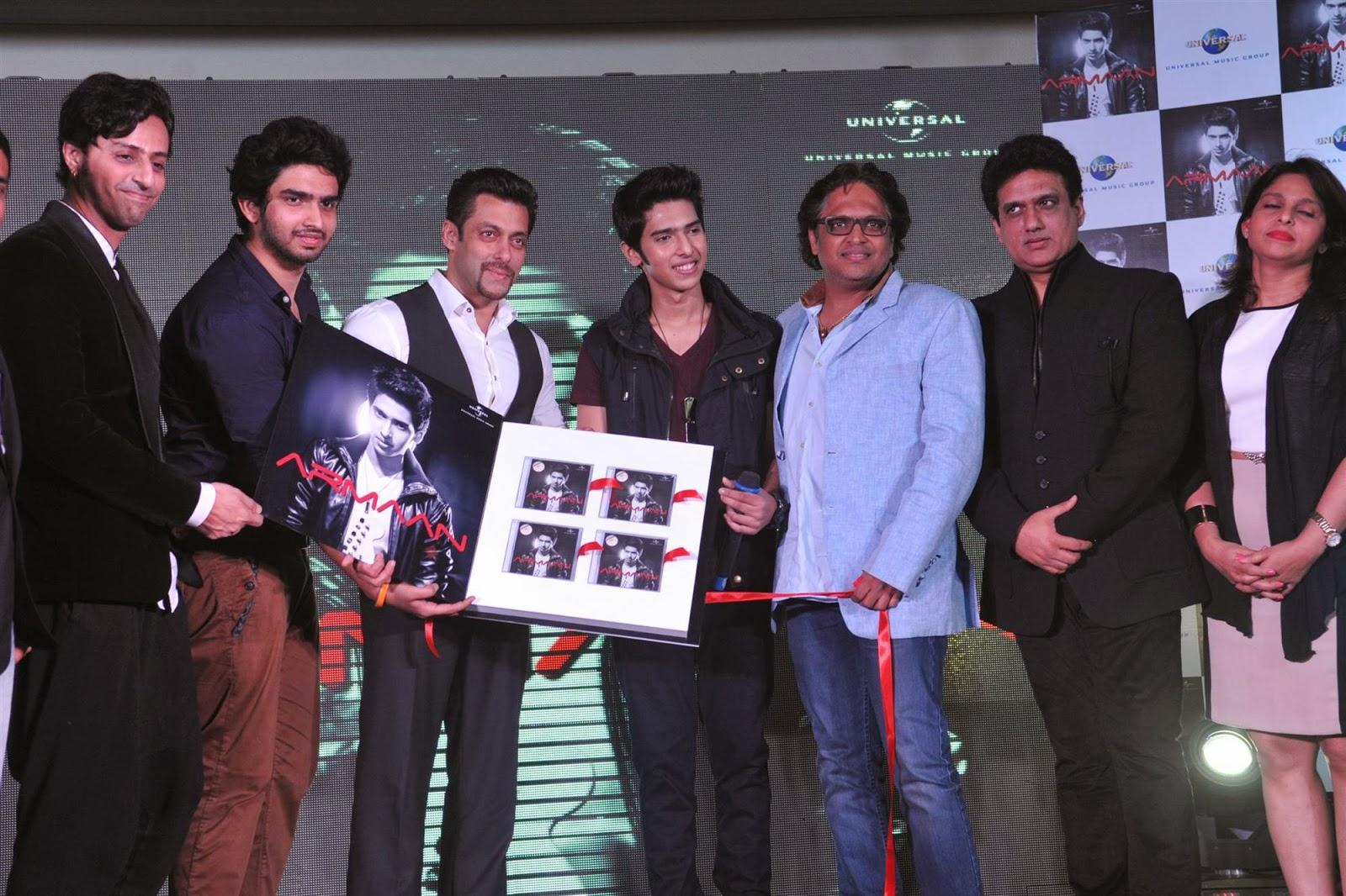 Salman Khan launches Armaan Malik debut music album