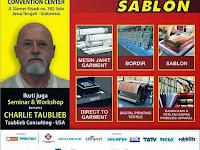 IAPE SOLO 2015, Pameran Bisnis dan Pameran Mesin Garmen, Konveksi, Sablon