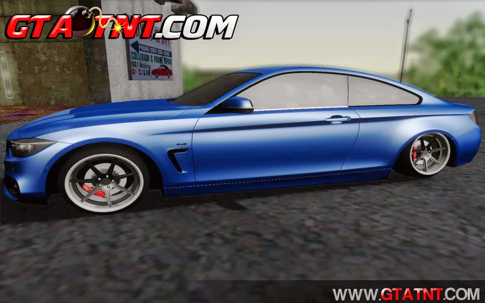 BMW 435i Stance para GTA San Andreas