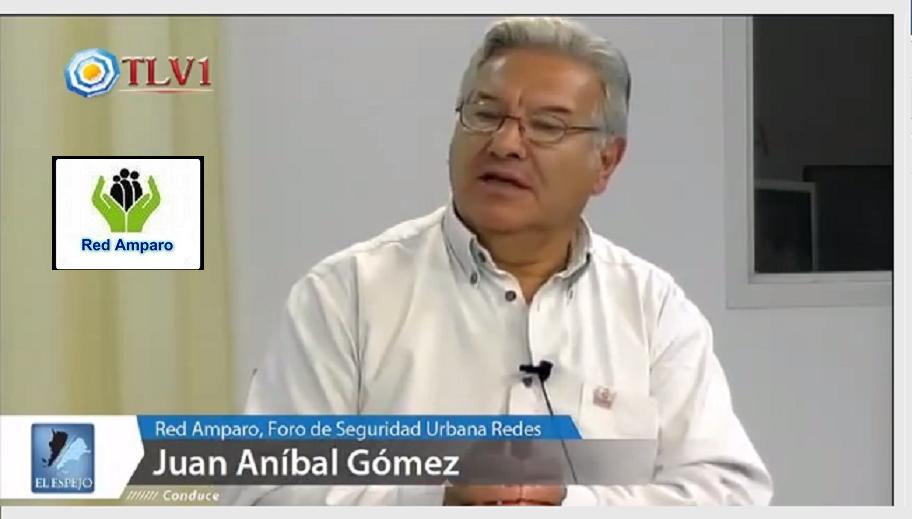 RED AMPARO: Juan Anibal Gómez Fundador y Coord. Gral. de  nuestra red.