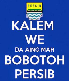 Kumpulan Gambar Foto Dp BBM PERSIB Bandung sunda unik lucu