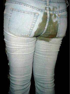 diarreia no jeans