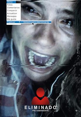 Poster español de Eliminado (Unfriended)