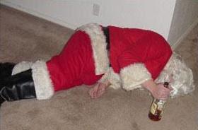 Imagens do Papai Noel Bêbado