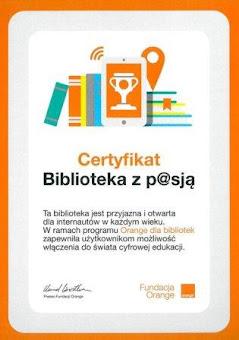 Jesteśmy Biblioteką z p@sją!