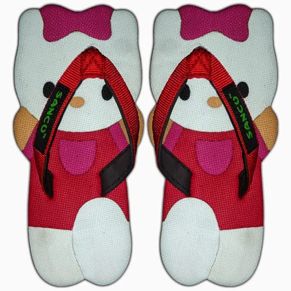 Sandal Sancu Hello Kitty Merah, Sandal Sancu Yogykarta, Pusat Sancu