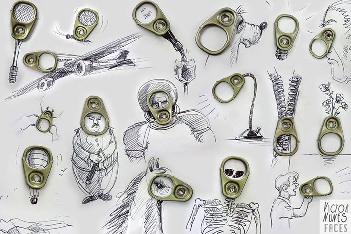18-Can-Opener-Victor-Nunes-The-Art-of-Making-and-Drawing-Faces-using-Everything-www-designstack-co