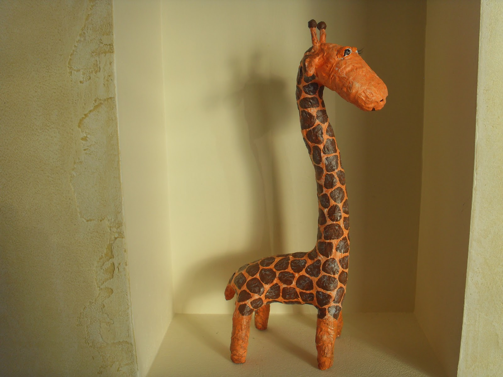 Как сделать жирафа фото