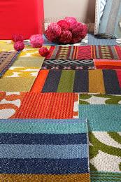 Styling för Horreds mattans katalog