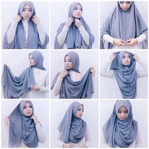 21 Model Tutorial Hijab Terbaru 2017 2018 Dan Terpopuler Saat Ini