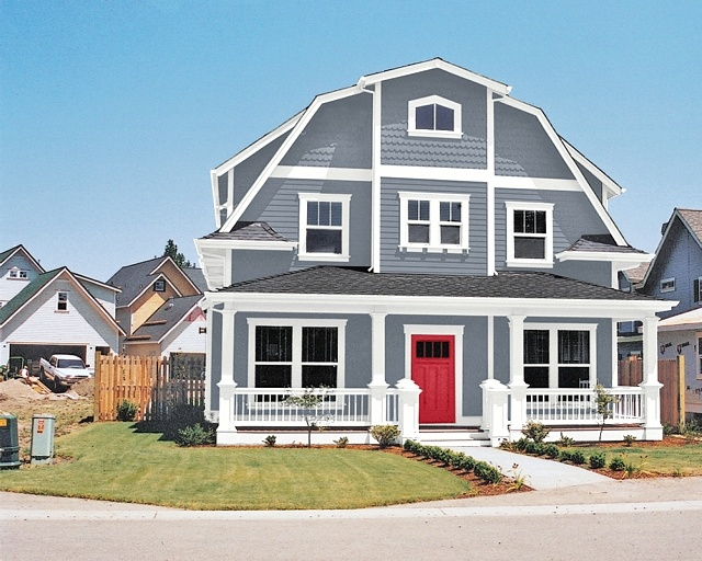 C b i d home decor and design maintaining your curb appeal - Gray clouds sherwin williams exterior ...