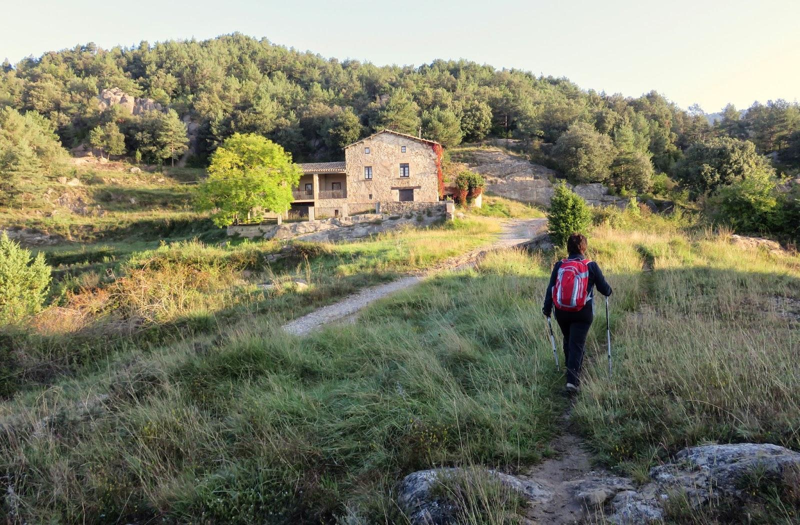 ALPENS - PUIG CORNADOR - ST. MARGARIDA I ST. MARTI DE VINYOLES