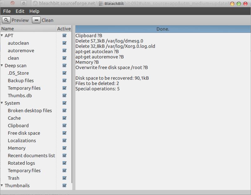 nurhamim u0026 39 s blog  cara install bleachbit untuk menghapus