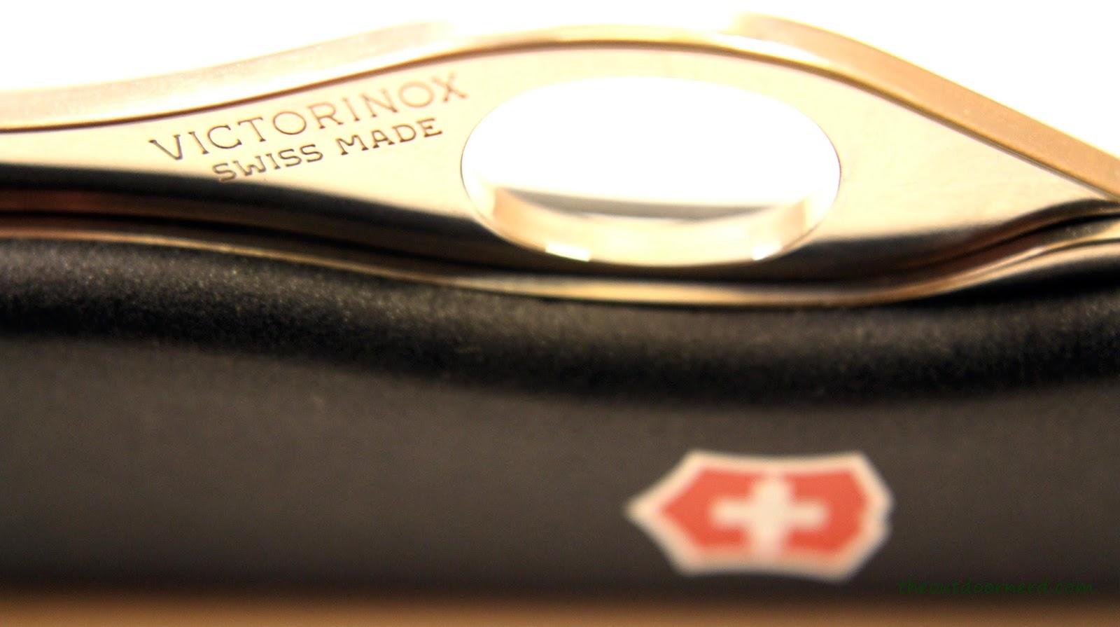 Victorinox Sentinel - Closeup Of Logo