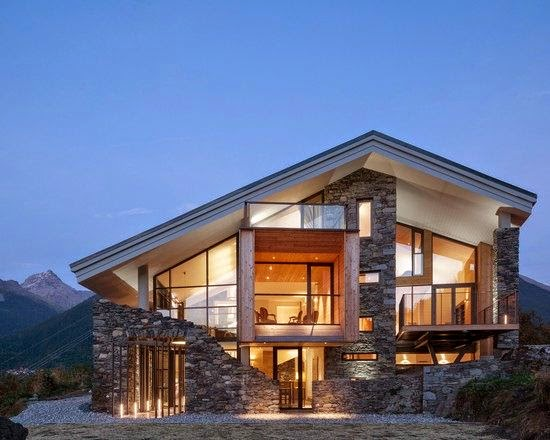 Fachadas de casas rusticas ii for Casas contemporaneas rusticas