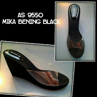 Model sandal wanita terbaru mika bening