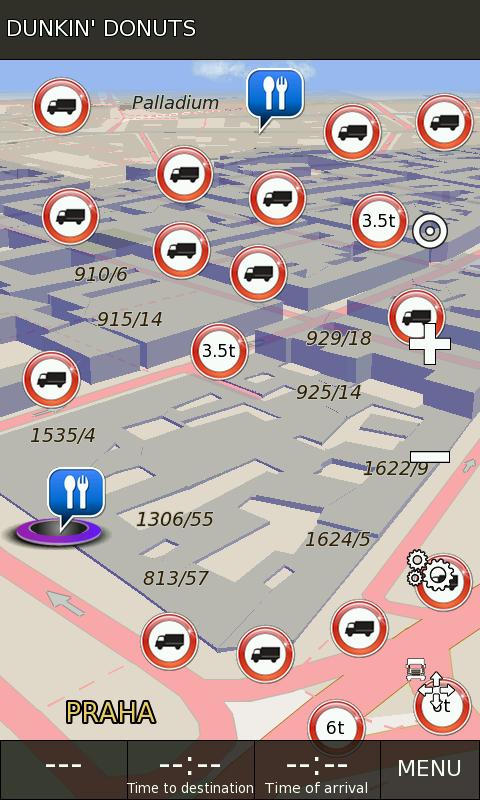 Навигация для грузовиков андроид