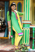 Anjali latest photos in green churidar-thumbnail-1