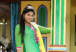 Anjali latest photos in green churidar
