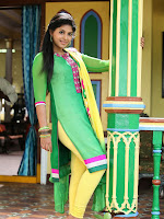 Anjali latest photos in green churidar-cover-photo